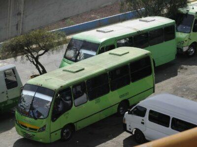 Choferes del transporte público en CDMX podrán afiliarse al IMSS