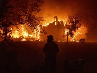 Incendios devastan California: la gente huye entre las llamas