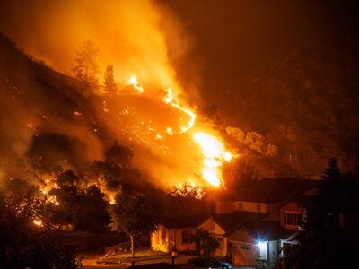 California: incendios arrasan con miles de hectáreas