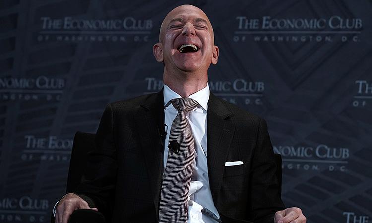 Jeff Bezos fortuna
