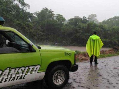 Fuertes lluvias en Veracruz dejan tres muertos; aplican Plan DN-III-E