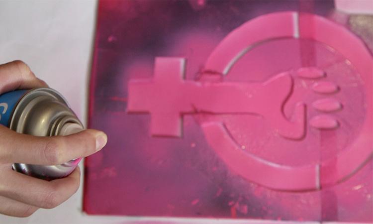 Feminista radical comperte sus motivos para romper y pintar en marchas contra violencia de género