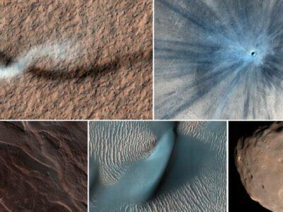 """NASA comparte imágenes de """"diablo de polvo"""", formado en Marte"""