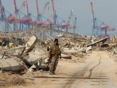 """Líbano indagará si explosión en Beirut fue por """"interferencia externa"""""""