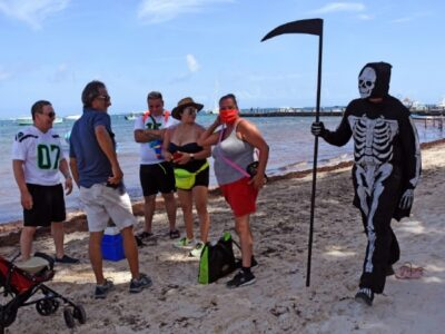 muerte playa