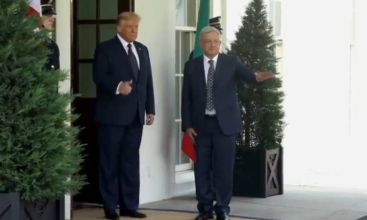 AMLO Donald Trump