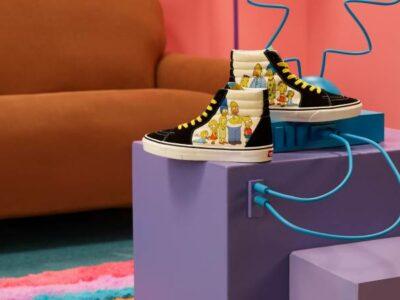 Vans celebra 30 años de Los Simpson con nueva colección