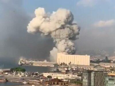 Explosión en Beirut, Líbano, no deja víctimas mexicanas: Ebrard