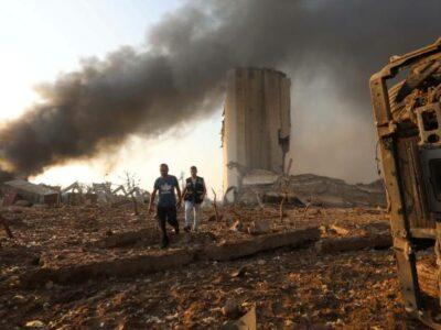 Explosión en Beirut: desastre similar a Hiroshima, dice gobernador