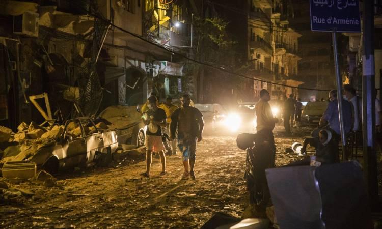 Explosiones en Beirut, Líbano, provocadas por nitrato de amonio