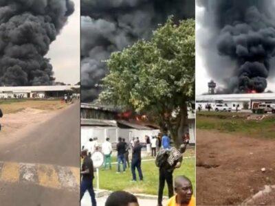 Incendio en almacén de medicinas de Unicef en la R.D. Congo