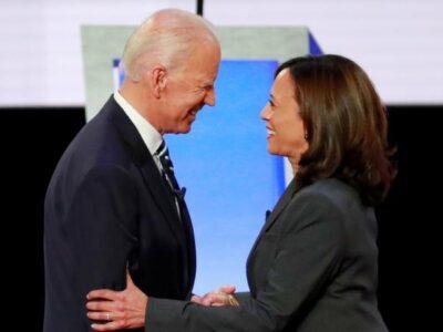 Joe Biden va con la senadora Kamala Harris como vicepresidenta