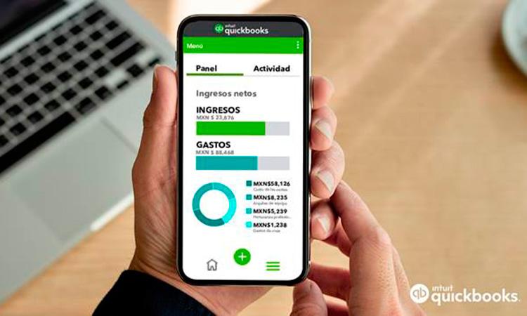 QuickBooks digitalizar finanzas