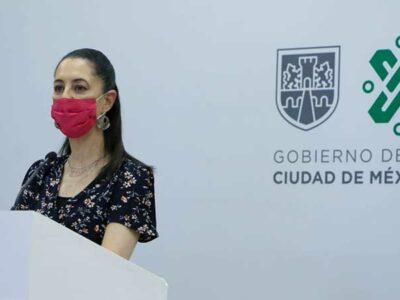 Sheinbaum garantiza que vacuna contra COVID-19 será gratis en CDMX