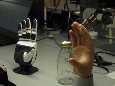 Científicos crean piel electrónica capaz de sentir
