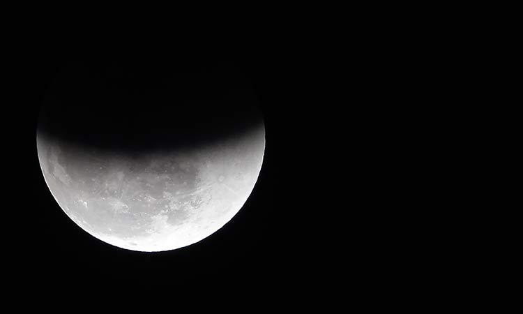 La NASA observa por primera vez la observación de un eclipse lunar desde satélite espacial