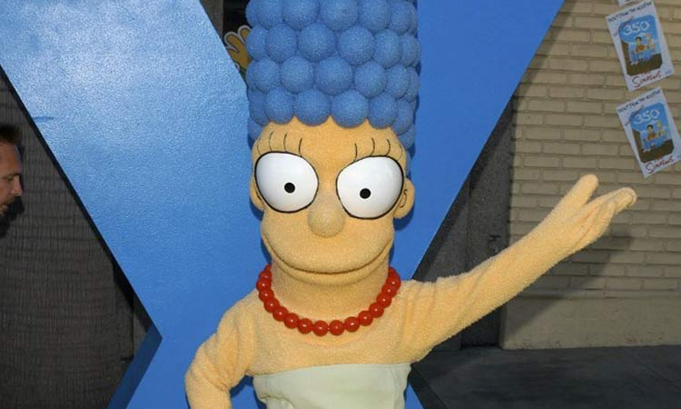Marge Simpson contestación