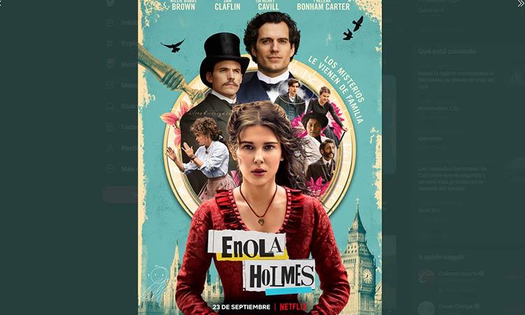 """""""Enola Holmes"""" estreno"""
