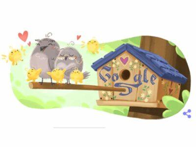 Google le dedica un tierno doodle a todos los abuelos. Esto es a propósito de que este día se conmemora el día de los abuelos.