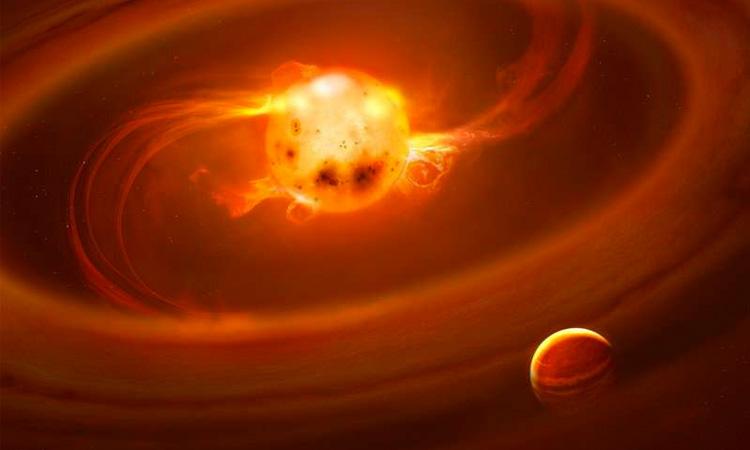 Así es cómo nacen las estrellas, planetas y hasta los sistemas solares