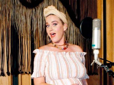 Katy Perry tema a su bebé