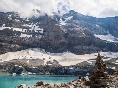 Glaciar en Italia