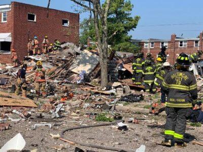 Reportan fuerte explosión en Baltimore