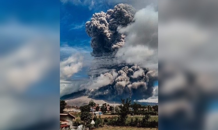 Volcan Sinabung