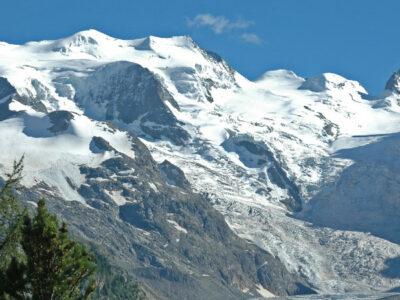 En Suiza, captan espectacular colapso de un glaciar