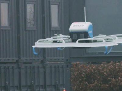 Envíos con drones de Amazon reciben aprobación de EU