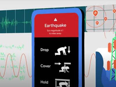 Google convertirá teléfonos Android en detectores de terremotos