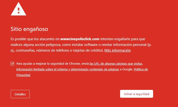 Cinépolis Klic alerta de sitio falso que roba datos personales - Uno TV