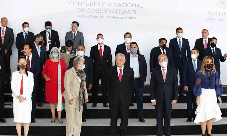 Gobernadores y AMLO alcanzan acuerdos tras reunión de Conago: Sánchez Cordero