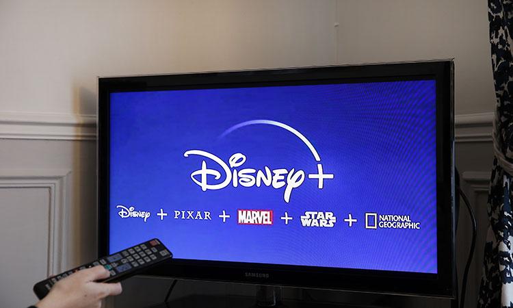 Disney encabeza la lista de los gigantes del servicio de streaming