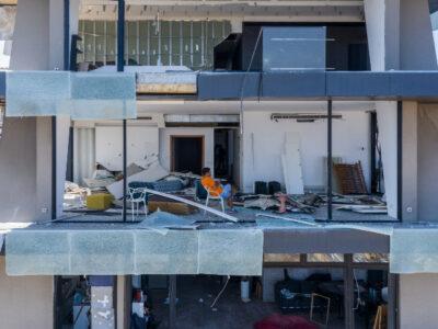 Explosión en Beirut: dron muestra cómo se ven las casas destruidas