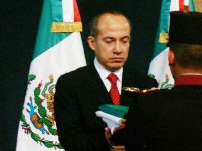 Felipe Calderón asumió la presidencia de México el 1 de diciembre de 2006.