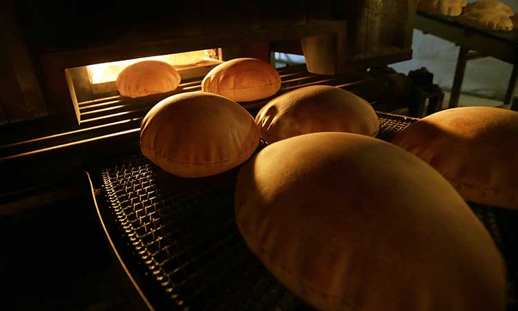 La capital libanesa importa el 85% de sus alimentos, entre ellos el trigo.