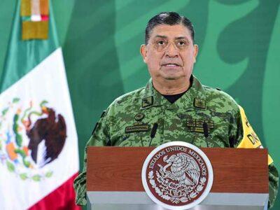 Luis Cresencio Sandoval dijo que si se llega a comprobar el delito que fue denunciado en un video se dará parte a la FGR.