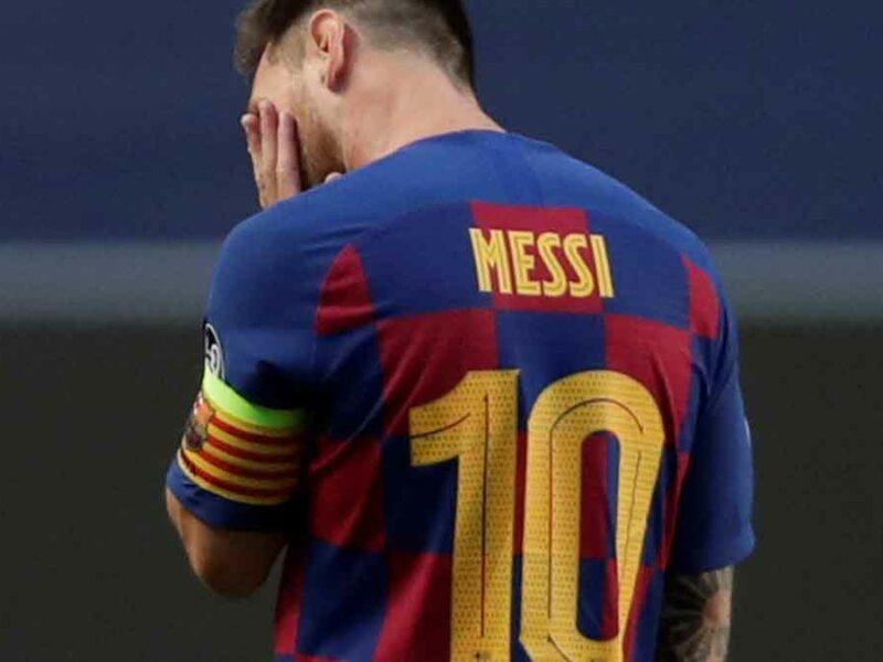 Messi y el Barcelona humillados por el Bayern Munich.