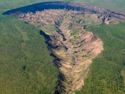 Puerta del infierno: cráter en Rusia causa alerta