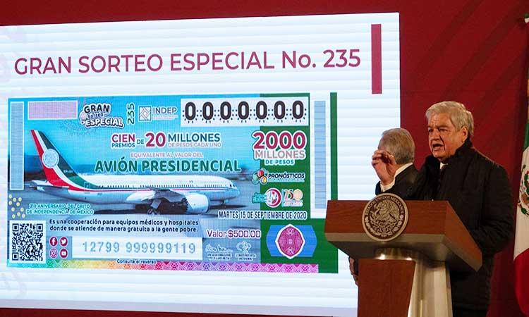 En el sorteo se entregarán 100 premios de 20 millones de pesos cada uno.