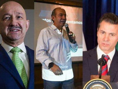 Emilio Lozoya señaló a tres expresidentes.