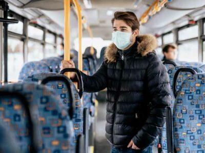 seguro viajar en transporte publico