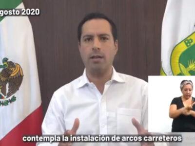 Yucatán suspende reemplacamiento hasta 2022