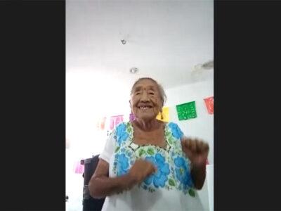 """En Campeche, abuelita se hace viral por su """"secreto de eterna juventud"""""""