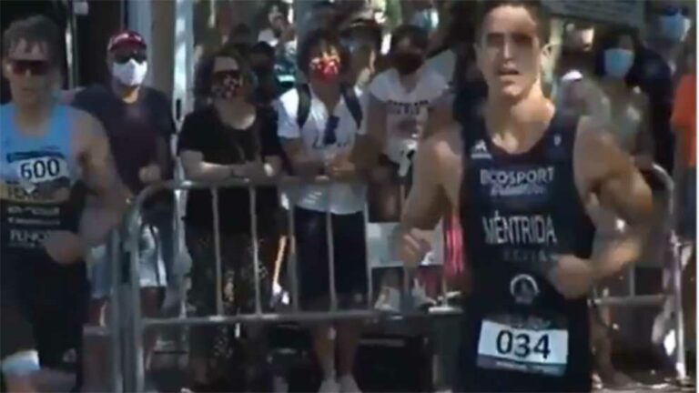 Gran gesto deportivo en Santander
