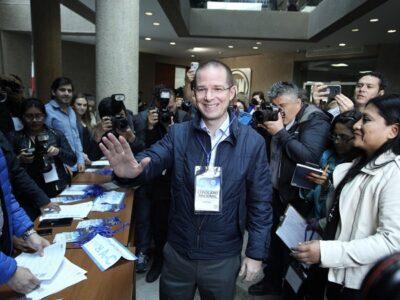 Ricardo Anaya anuncia su regreso a la vida pública