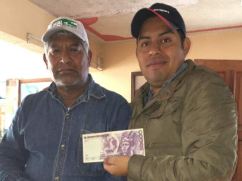 Murió Fulgencio Sandoval, rostro de los billetes de 100 pesos
