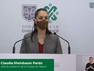 Sheinbaum presenta plan de reactivación económica en CDMX