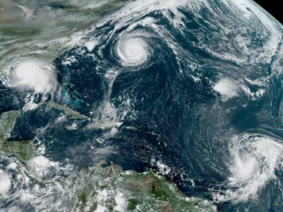 Estados Unidos, en alerta: Sally y 4 ciclones lo amenazan